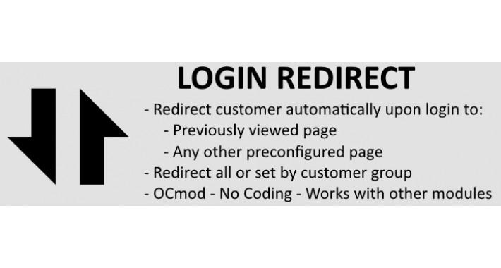 Login Redirect