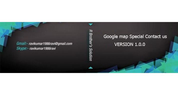 OpenCart - Special Google Map on Contact Us Page