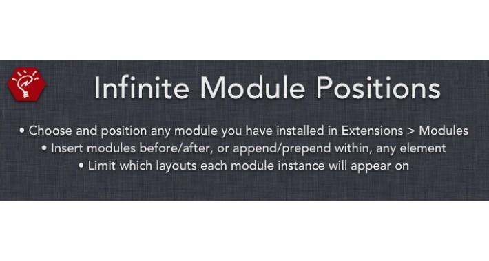 (1.5.x) Infinite Module Positions