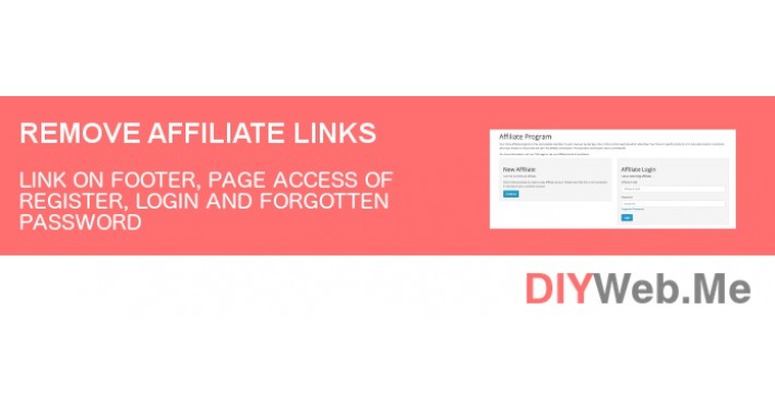 Remove Affiliate Links