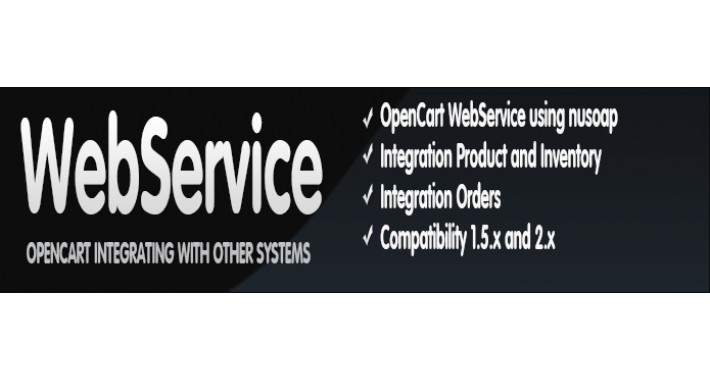 WebServices Opencart
