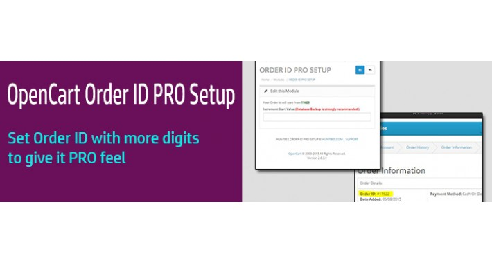 Order ID Setup (Lite)