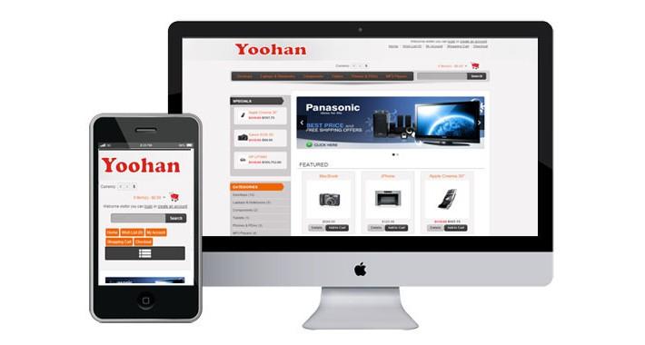 OpenCart - # Yoohan Free Responsive Opencart Templates