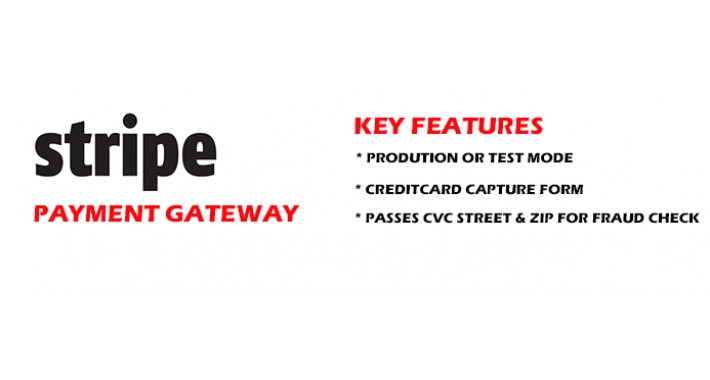 Stripe Payment Gateway for Opencart 2.X
