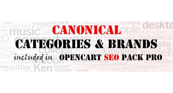 Canonical Links PRO (from Opencart SEO PACK PRO)