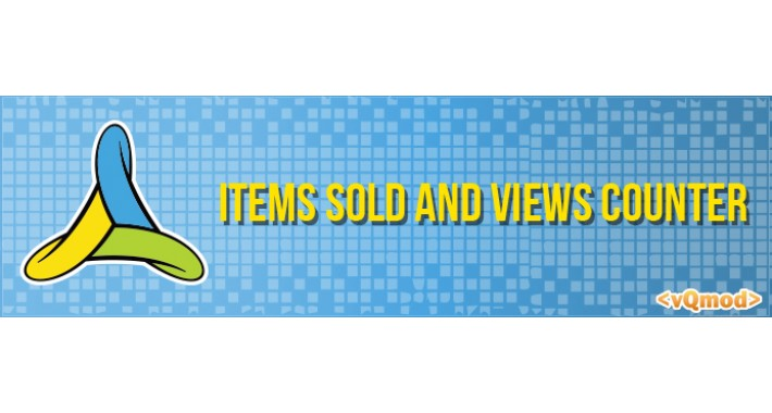 Items Sold and Views Counter (vQmod)