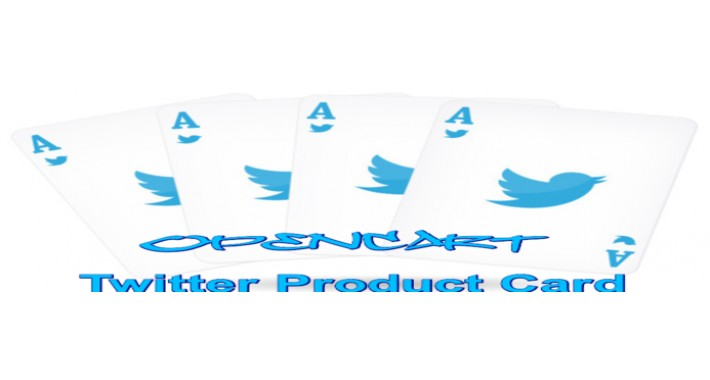 Twitter Product Card and Facebook OG for Opencart