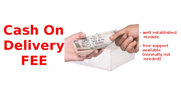 Cash On Delivery Fee / COD Fee