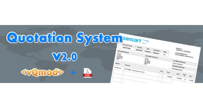 [vQmod] Quotation System / Sistema Preventivi V2