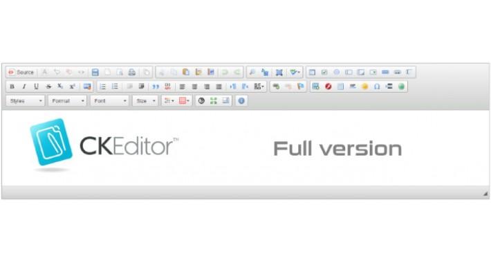 CKEditor 4.4.4 - Full