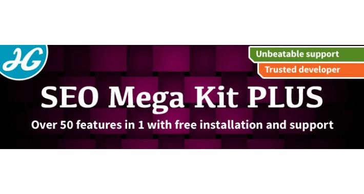 SEO Mega Kit PLUS - Complete SEO Friendly URLs - OVER 50 IN 1!