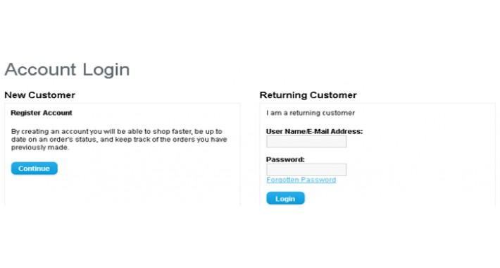 Customer User Name