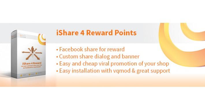 Share on Facebook 4 Reward Points