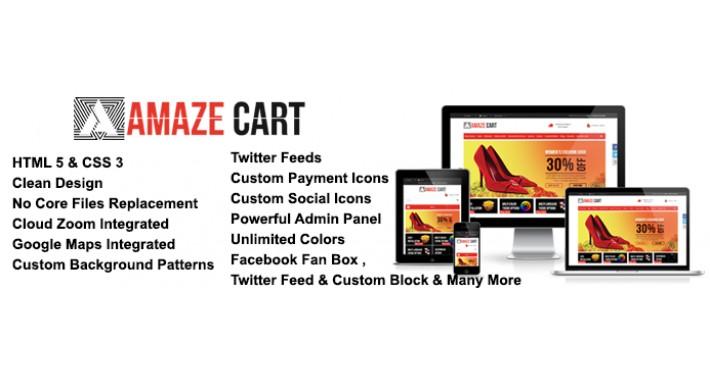 Amazecart Premium Responsive Opencart Theme