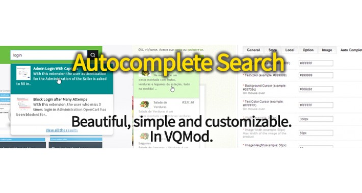 Autocomplete Search