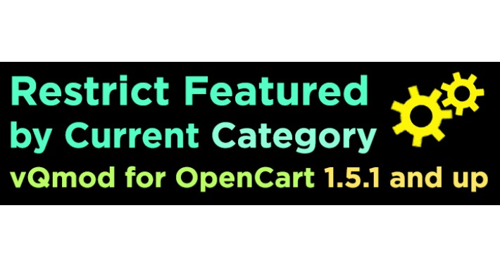 Restrict Featured by Category