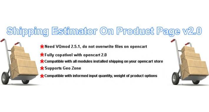 Shipping Estimator On Product Page v2.0  (Simular Frete Produto)