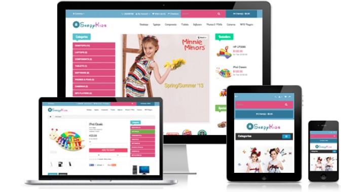 A Shopy Kids - Responsive Opencart Theme