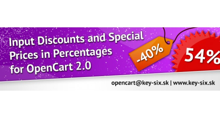 INPUT DISCOUNTS AND SPECIAL PRICES IN PERCENTAGES