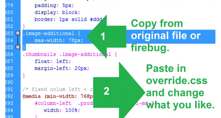 GGW vQmod Include custom CSS override highest priority
