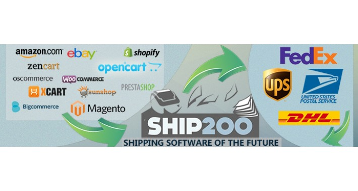 Ship200 FREE Multi Carrier Shipping Software - Bulk Processing
