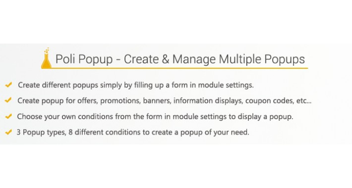 Poli Popup : Manage Multi Popup