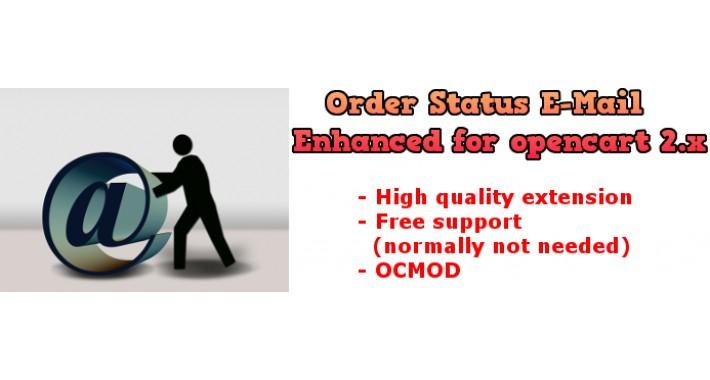 Order Status E-Mail enhanced 2.x and 3.x