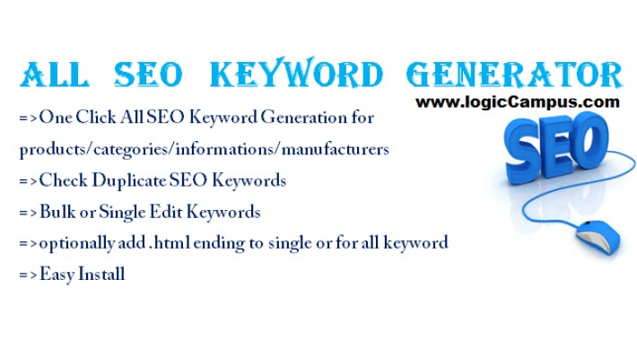 All SEO Keyword Generator