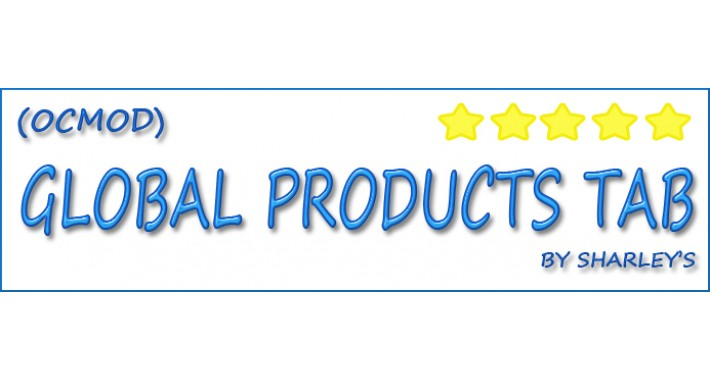 (ocmod) Global Product Tabs