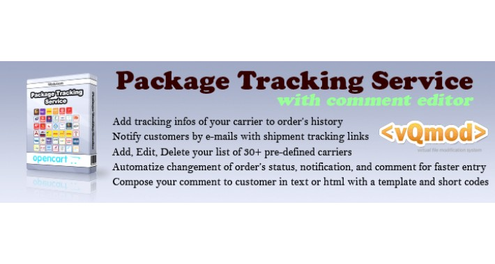 Package Tracking Service Lite oc1.x