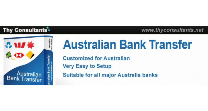 Australian Bank Transfer -with additional payment notification
