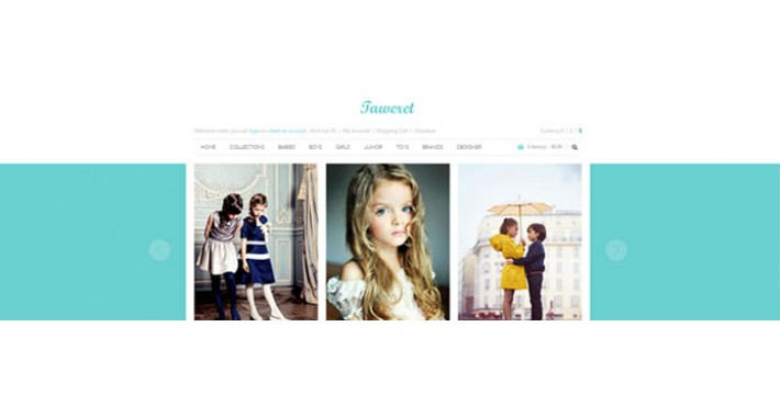 Baby Shop - TAWERET -  OpenCart Theme