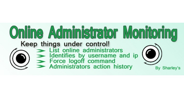 (vQmod) Online Administrators Monitoring