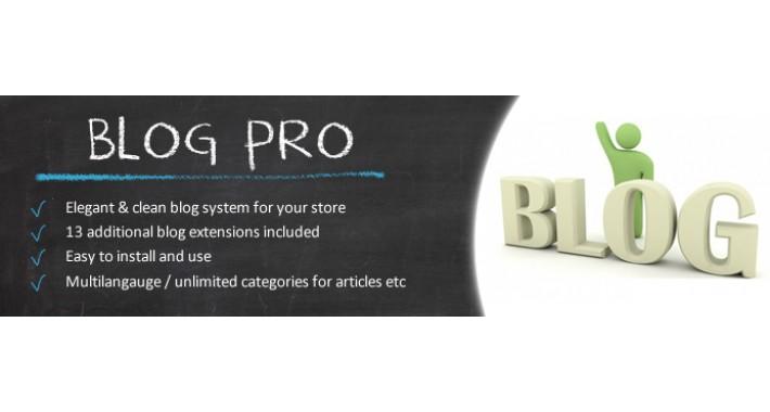 Blog Pro OC1.5.x