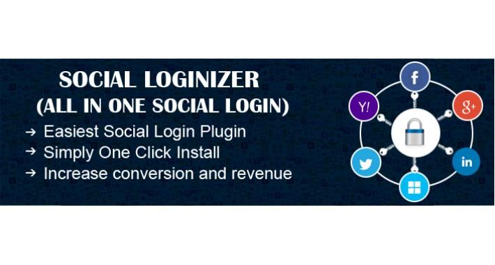 Social Loginizer (Social Login Facebook, Google+, Twitter)