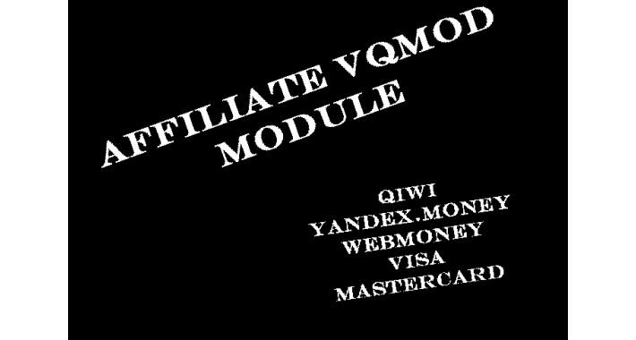 Affiliate New (vQmod)