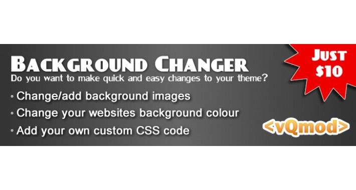 Background Changer - Change your themes background