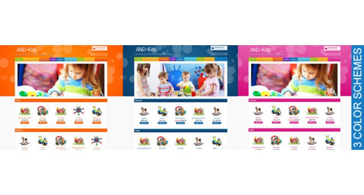 Kinder OpenCart Template
