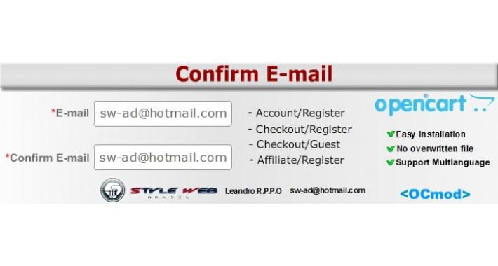 Confirm E-mail