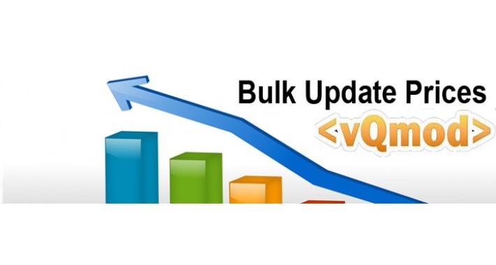 Bulk Update Prices