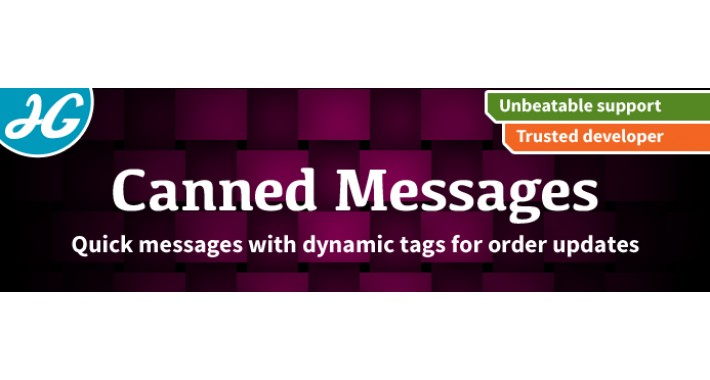 [VQMOD] Canned Messages 2.X