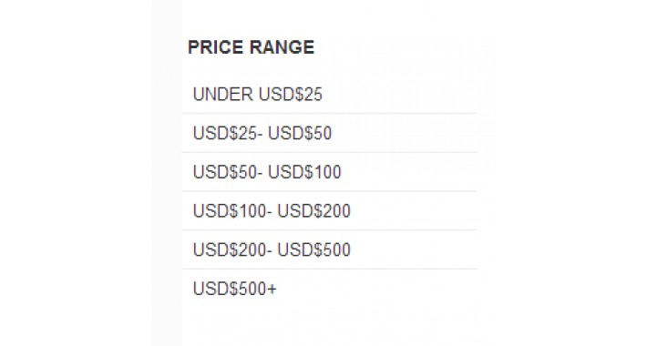 Price Filter Module for free for front