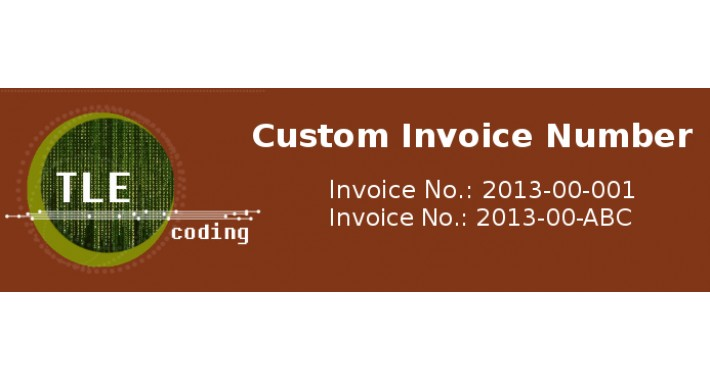 Custom Invoice Number