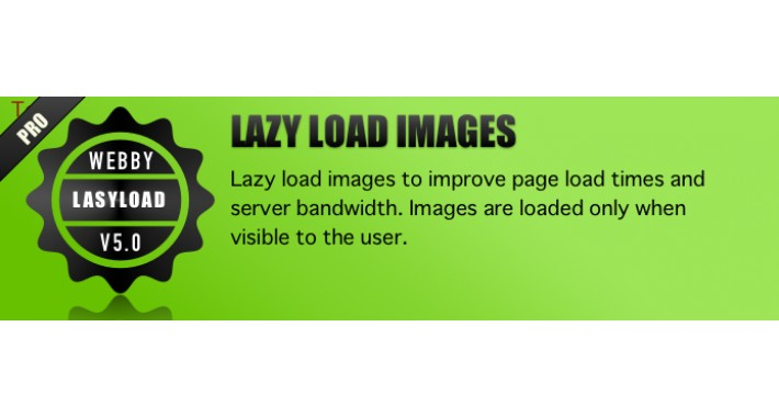 LAZY LOAD PRODUCT IMAGES