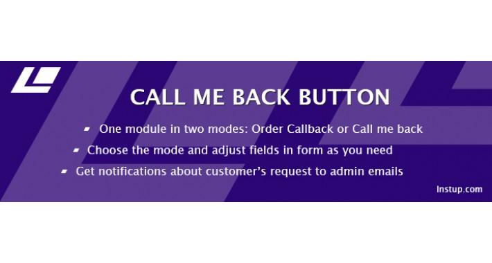 Order Callback (Buy one click) FREE