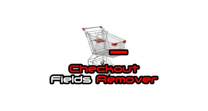Checkout Fields Remover (Fax,Postcode,Company,Address 2) [vQmod]