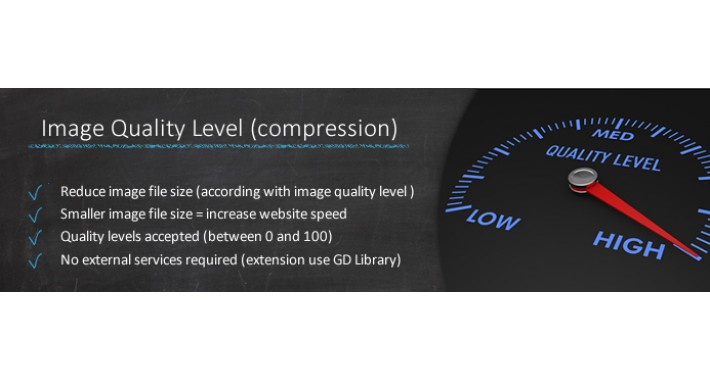 IMAGE QUALITY LEVEL (COMPRESSION)
