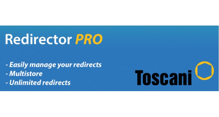Redirector PRO - Manage your redirects