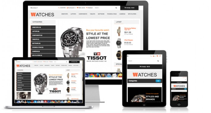 Watches - Responsive Opencart Theme