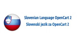 Slovenian Language OpenCart 2